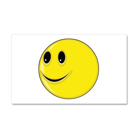 Smiley Face - Looking Right Car Magnet 12 x 20