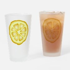 Lemon Slice Pint Glass