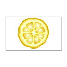 Lemon Slice Car Magnet 12 x 20