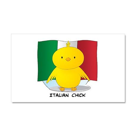 Italian Chick Car Magnet 12 x 20
