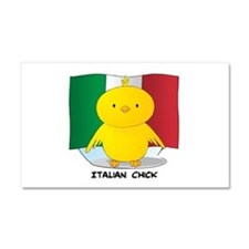 Italian Chick Car Magnet 12 x 20
