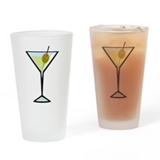 Dirty Martini Pint Glass