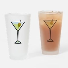 Dirty Martini Pint Glass