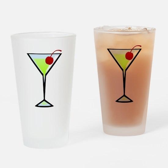 Green Apple Martini Pint Glass
