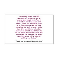Thank you very much, South Ca Car Magnet 12 x 20