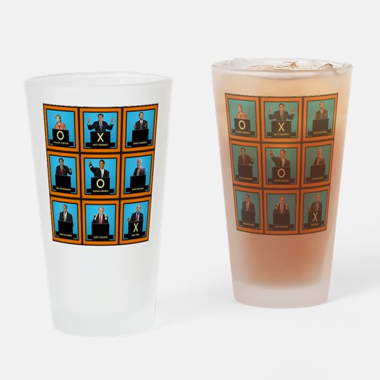 Presidential Squares Pint Glass