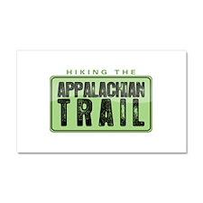 Hiking the Appalachian Trail Car Magnet 12 x 20