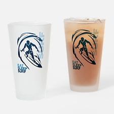 Eat Sleep Surf Pint Glass