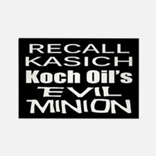 Recall Governor Kasich Rectangle Magnet