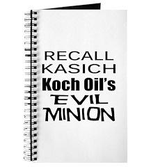 Recall Governor Kasich Journal