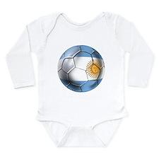 Argentina Football Long Sleeve Infant Bodysuit