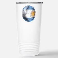 Argentina Football Travel Mug