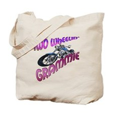 TWO WHEELIN' GRAMMIE Tote Bag