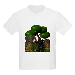 Toon wild animals T-Shirt