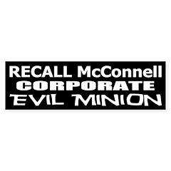 Recall Mitch McConnell Bumper Sticker
