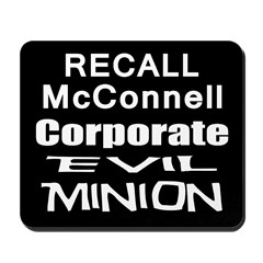 Recall Mitch McConnell Mousepad