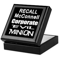 Recall Mitch McConnell Keepsake Box