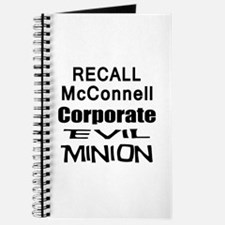 Recall Mitch McConnell Journal