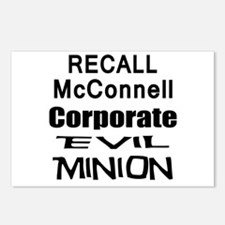 Recall Mitch McConnell Postcards (Package of 8)