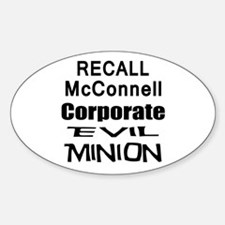 Recall Mitch McConnell Decal