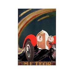 Car Poster Rectangle Magnet