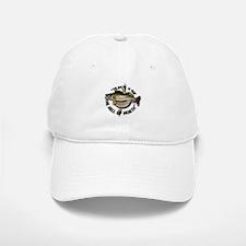 Walleye Fishing Baseball Baseball Cap Hat