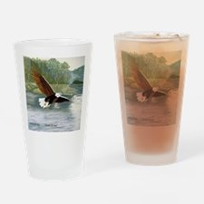 American Bald Eagle Flight Drinking Glass