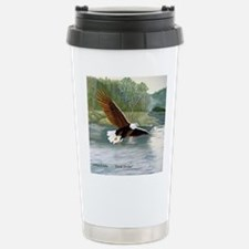 American Bald Eagle Flight Travel Mug