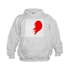Half Heart Twin Hoody