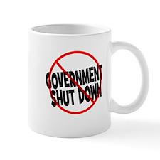 Anti Government Shutdown Mug