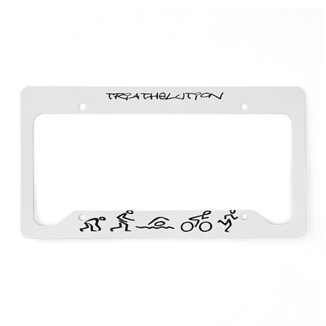 Triathelution License Plate Holder