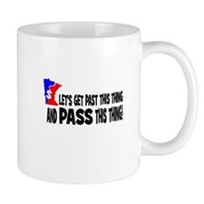 Let's get past this thing and Mug