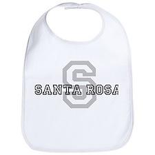 Letter S: Santa Rosa Bib