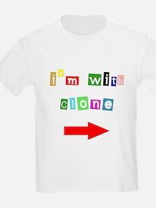 I'm With Clone Kids T-Shirt