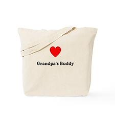 Grandpa's Buddy: Tote Bag