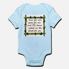 Naked Pagan Dance Infant Bodysuit