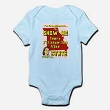 the show me state Infant Bodysuit