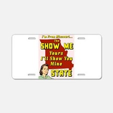 the show me state Aluminum License Plate