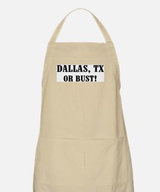 Dallas or Bust! BBQ Apron