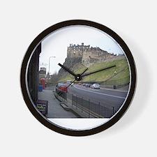 Edinburgh Castle, Scotland, U Wall Clock