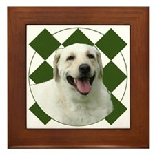 Labrador Framed Tile