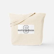 Letter S: Santa Barbara Tote Bag