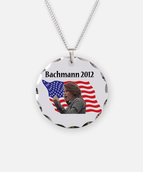 Funny Michele bachman Necklace