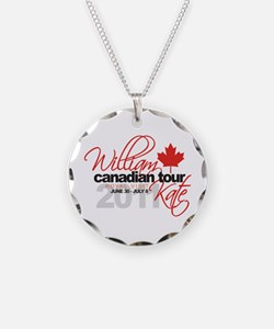 Will & Kate Canadian Visit Necklace