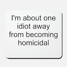 homicidal Mousepad