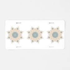 Snowflake I Aluminum License Plate