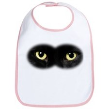Black Cat Eyes Bib
