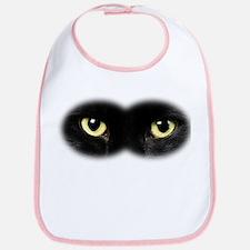 Black Cat Eyes Bib