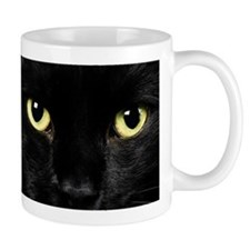 Black Cat Eyes Mug