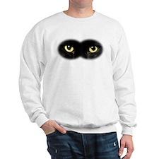 Black Cat Eyes Sweatshirt